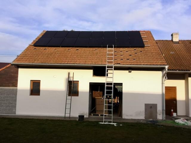 Fotovoltaická elektrárna Hulín- Kroměříž