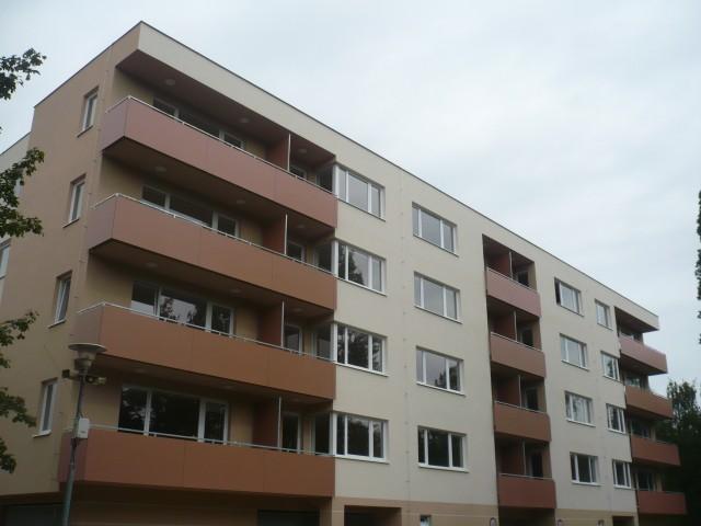 Elektroinstalace bytový dům, Zlín