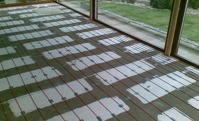 Zapojení podlahového vytápění